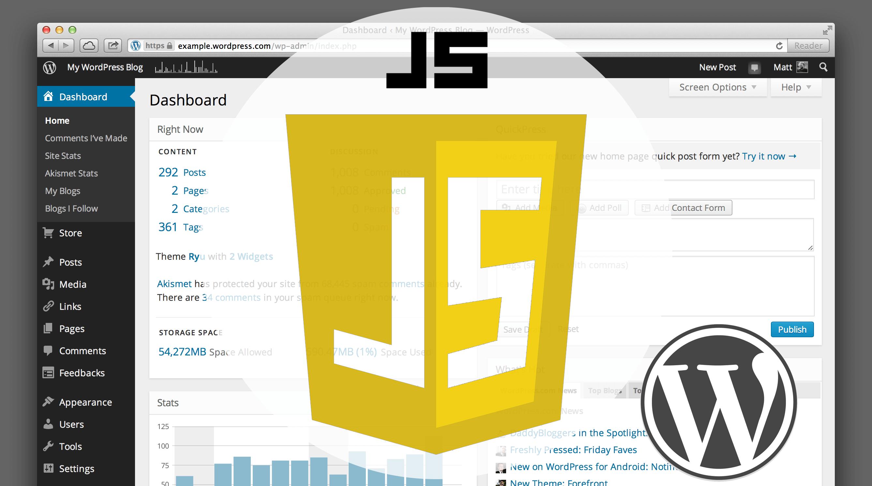 WordPress add JavaScript to admin