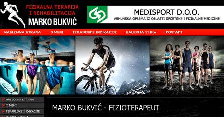 Fizioterapeut Beograd - Marko Bukvić